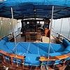 foto a bordo del Gelidonya